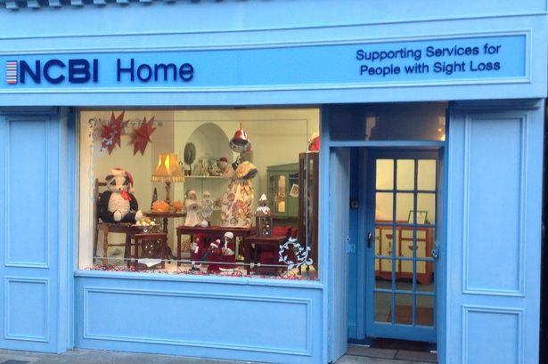 Shop front of NCBI Furniture Shop
