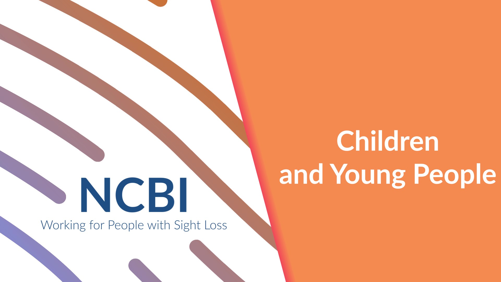 Children & Young People banner