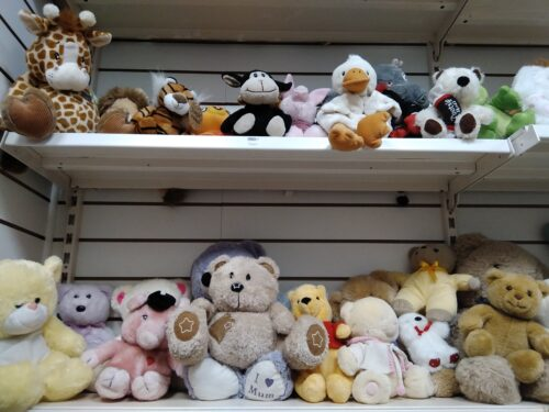 photo of lots of teddys bears