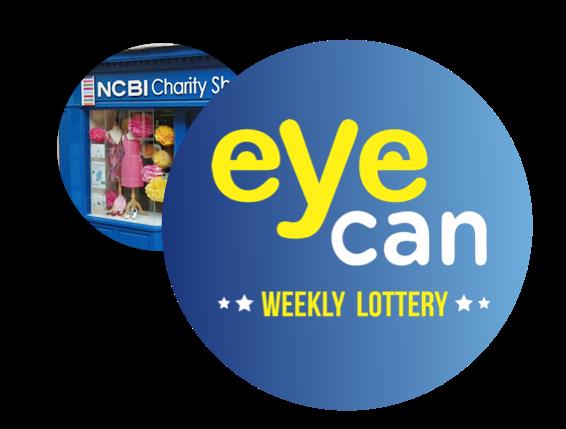 Eye Can Lottery logo
