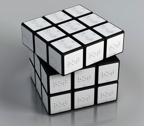 Braille Rubiks Cube