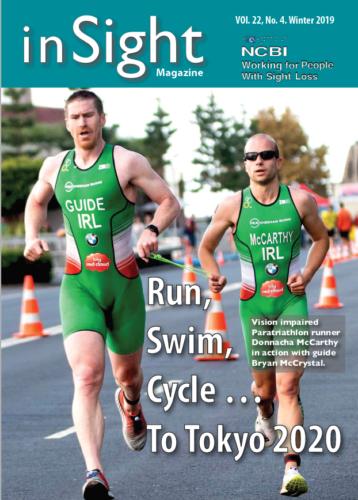 Cover InSight Magazine - Run, Swin, Cycle to Tolyo 2020