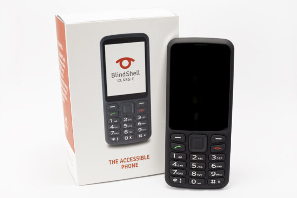Blindshell Classic mobile phone in black