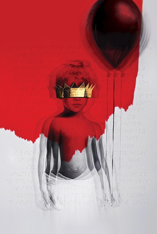 Rihanna's album anti with Braille