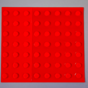 Bumpons – Large Round – Day-Glo Orange
