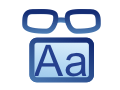 Low Vision Aids Icon
