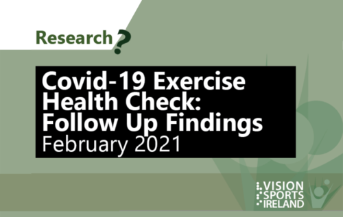 Research, Covid-19 exercise health check: Follow up findings February 2021