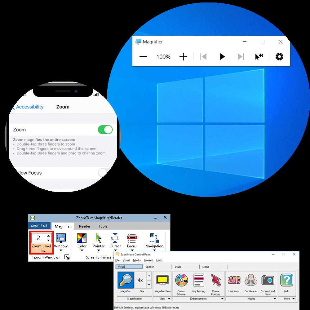 Magnification Software Logo