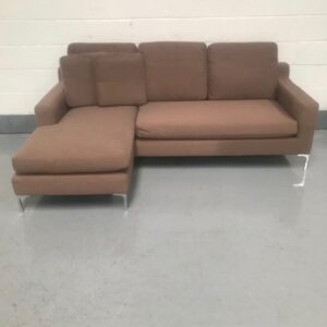 Dwell Modena Left or Right Hand Facing 3 Seat Chaise End Sofa