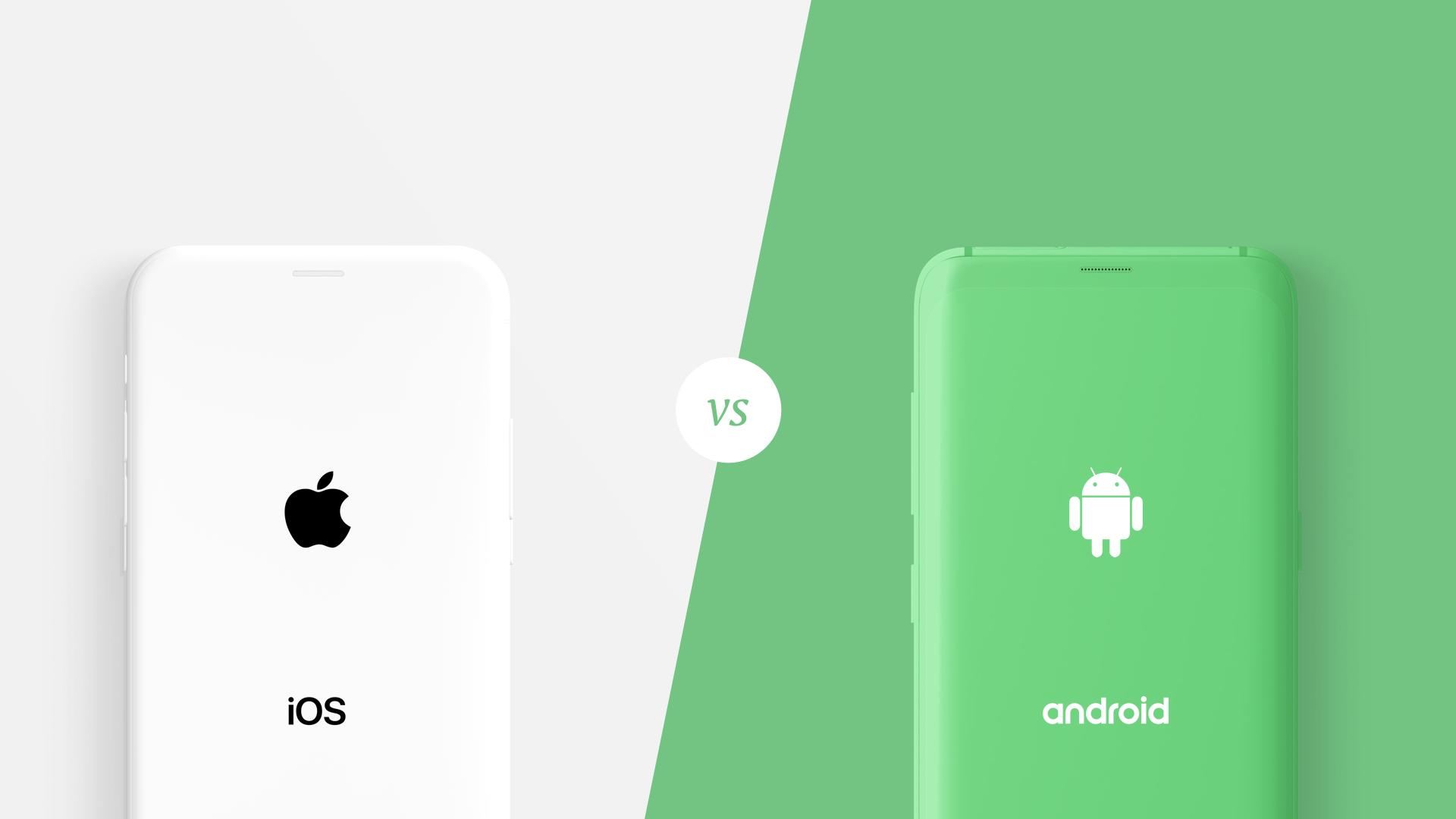 Apple iOS & Google Android phones