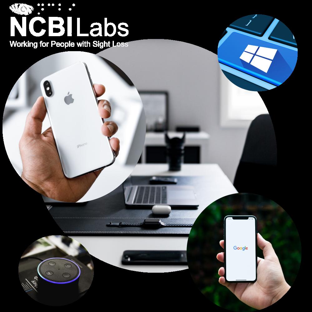 labs logo white